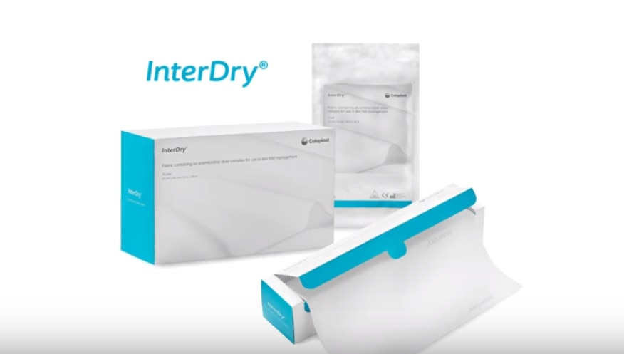 InterDry® – die 3-in-1 Lösung für ein erfolgreiches Hautfaltenmanagement