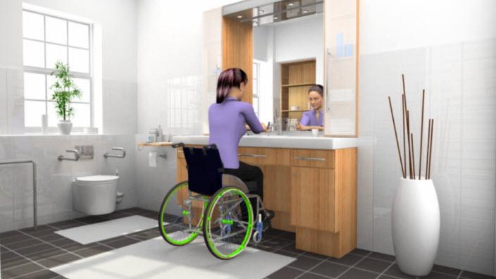 Femmes en fauteuil roulant