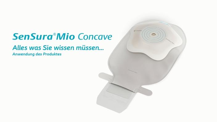 SenSura Mio Concave 1-teiliger offener Beutel